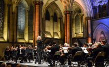 Canada's NAC Orchestra performing in the magnificent Salisbury Cathedral during the UK Tour. | Fred Cattroll