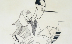 Gershwin brothers | Illustration: Al Hirschfeld