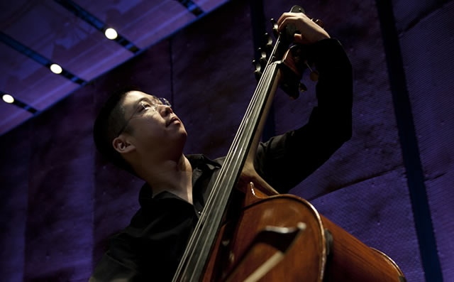 Theodore Chan, past participant of the Institute for Orchestral Studies | Photo by Keith Levit Photography