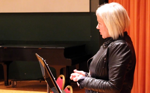 On November 9, NAC Presents Producer Simone Deneau welcomed students from Discovery University, a community partnership with The Ottawa Mission, to a special Q & A session with Blackie and the Rodeo Kings before their show. | Jennifer Covert