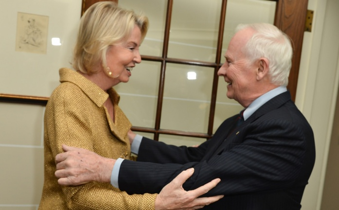 Hilary Weston and Governor General David Johnston