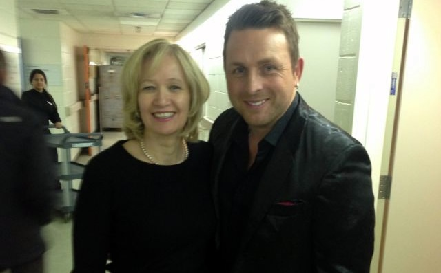 Laureen Harper and Johnny Reid | photo: Rosemary Thompson