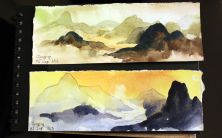 Chongqing and Fuling | Painting by Edvard Skerjanc, NAC Orchestra (violin)