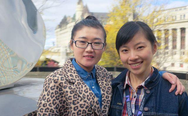 Chen Yaya (Shadow) and Yuan Yuan Zhang (Vivian) | David Ramalho