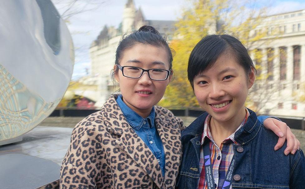 Chen Yaya (Shadow) et Yuan Yuan Zhang (Vivian)