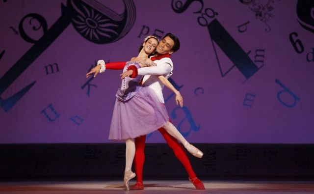 Sonia Rodriguez and Keiichi Hirano in Alice's Adventures in Wonderland | Photo: Bruce Zinger