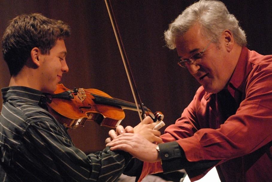Pinchas Zukerman partage sapassion avec les musiciens de la relève