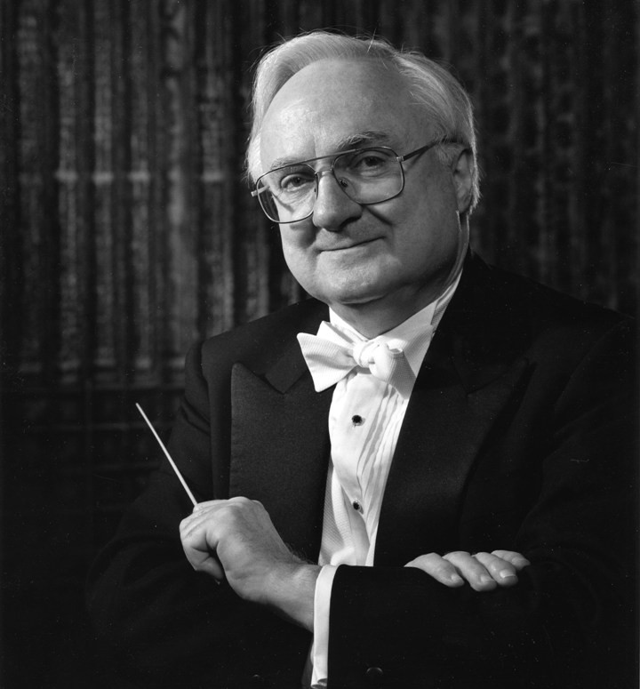 Maestro Mario Bernardi, C.C.