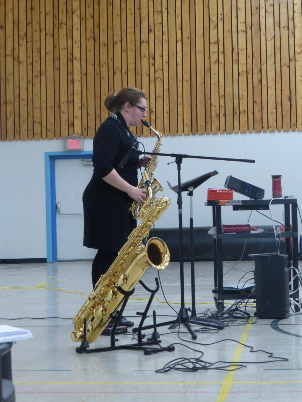 Le programme Vive la musique en Saskatchewan :Manor School