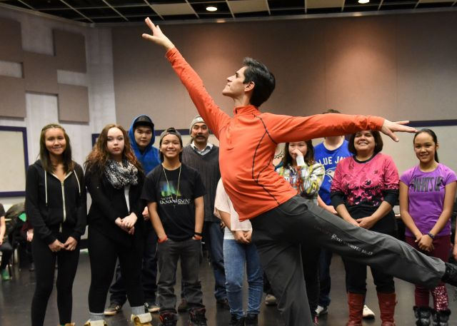 NAC Dance outreach with RWB conducted 17 dance workshops reaching over 450 Indigenous youth | Fred Cattroll