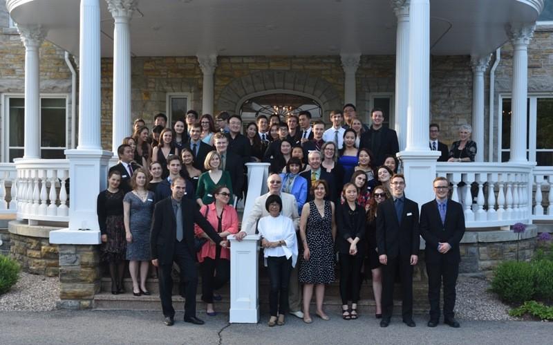 Les participants de la 18e édition de l'Institut estival de musique du Centre national des Arts (SMI).