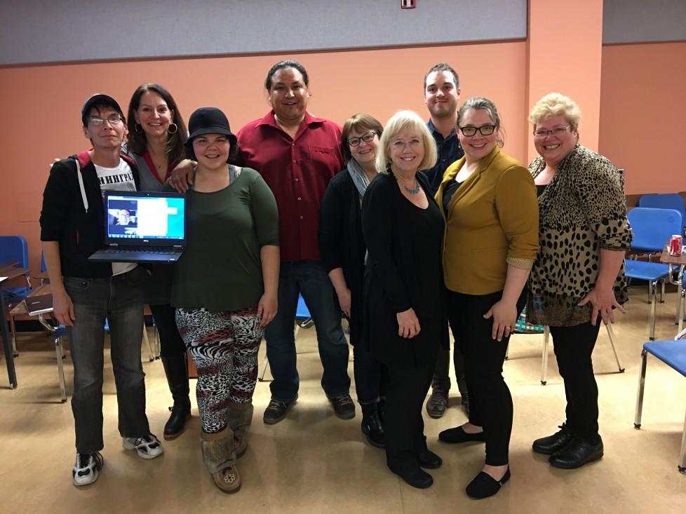 Artistes enseignants du programme Vive la Musique, originaires du Saskatchewan, de l'Alberta et du Manitoba.