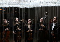 Shinning a light on young artists of the Institute of Orchestral Studies: Grace Sommer, Alisa Klebanov, Gabrielle Bouchard, Talia Hatcher and Alexander Volkov | Fred Cattroll