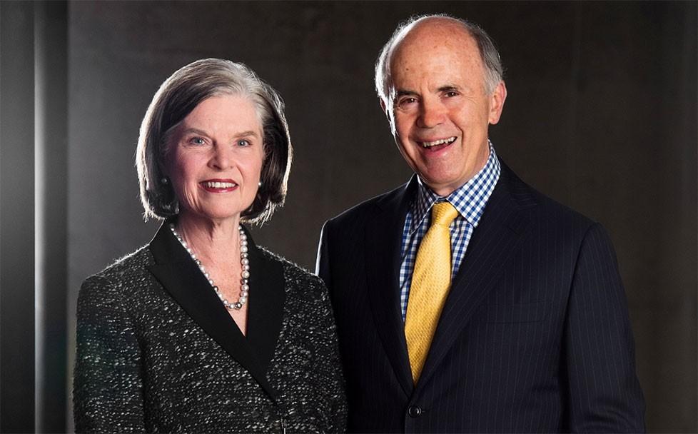 Susan Peterson d'Aquino et Thomas d'Aquino, Coprésidents d'honneur de la campagne « Adoptez un siège » 2017–2018 de la Fondation du CNA