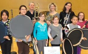NAC Brass Trio - Iqaluit, Feb. 2012