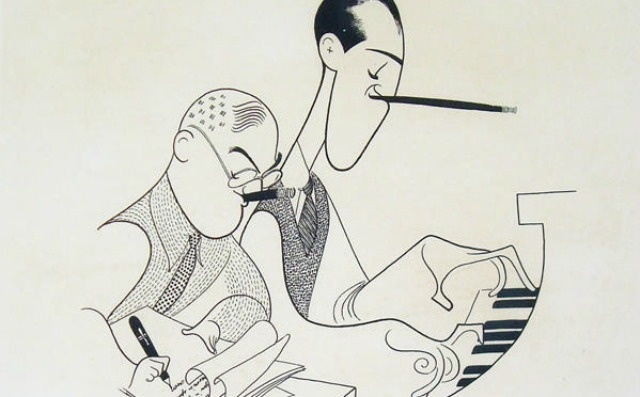 Gershwin brothers | Illustration: Al Hirschfeld