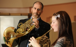 Larry Vine, principal horn
