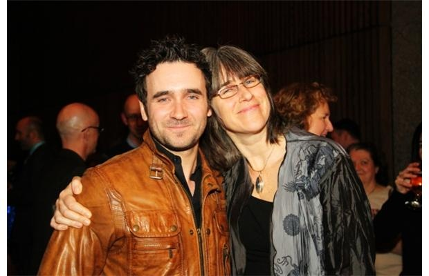 Allan Hawco and Jillian Keiley at the opening of Metamorphoses