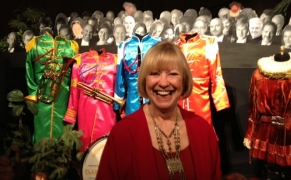 "Liz Pearson saw The Beatles in Liverpool in 1963: ""I was in my school uniform with my twin sister! We were standing in chairs, screaming!"""