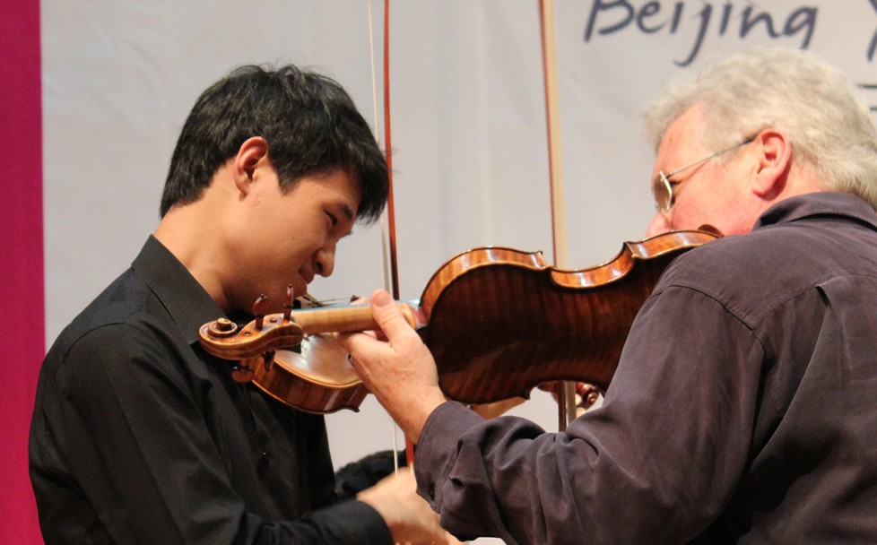 Pinchas Zukerman, Conservatoire central de Chine