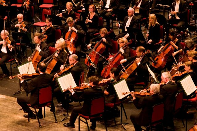 NAC Orchestra strings | Dwayne Browne
