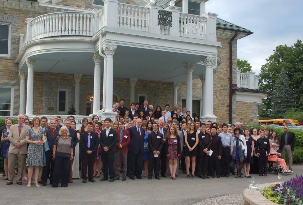 Les participants de la 16e édition de l'Institut estival de musique du Centre national des Arts (SMI).