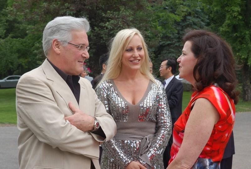 Pinchas Zukerman, Amanda Forsyth avec Vicki Heyman