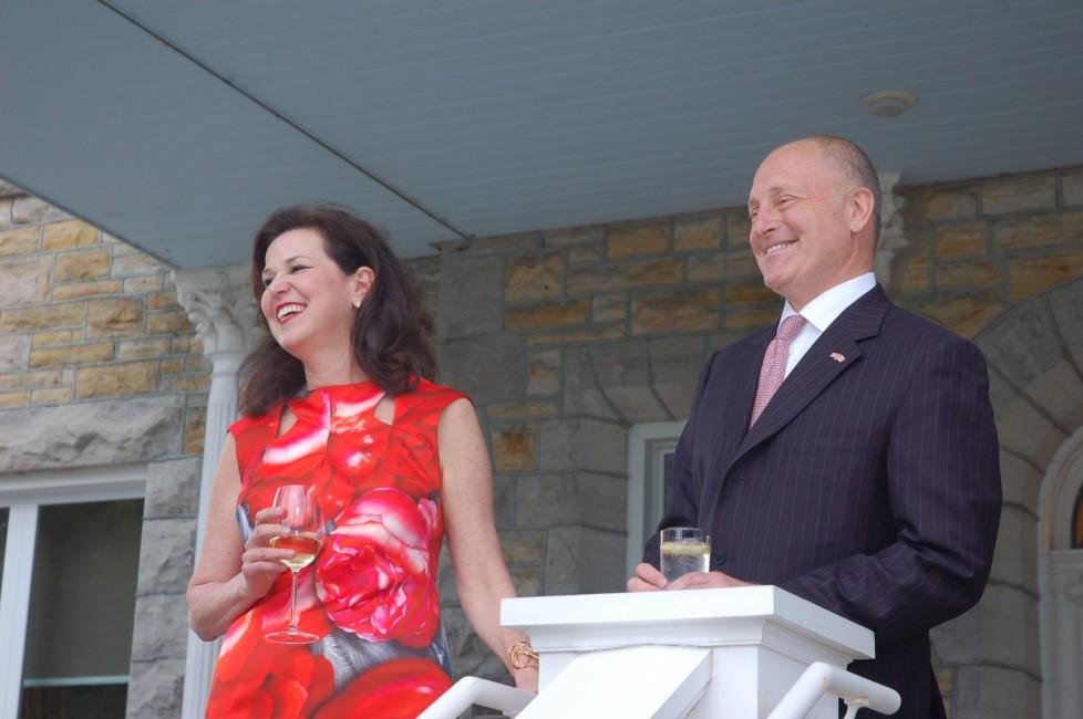 Son Excellence Bruce Heyman, ambassadeur des États-Unis au Canada, et son épouse Vicki Heyman ont donné une réception en l'honneur de la 16e édition de l'Institut estival de musique (IEM) du Centre nati